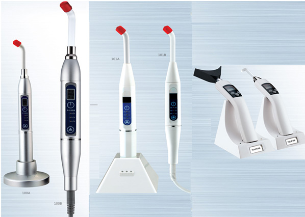 digital LED curing light